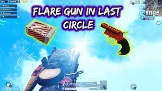 Flare gun in last circle | pubgmobile| techno frank