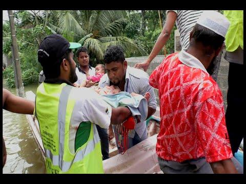 Sudden flood in Colombo!