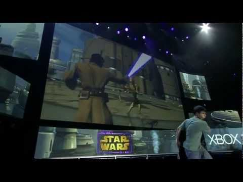 Star Wars Kinect - E3 2011: Gameplay Demo