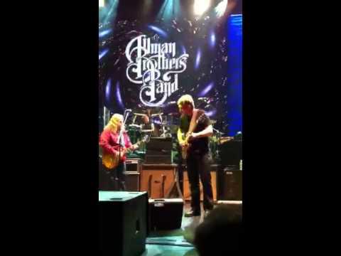 Devon Allman plays Duane Allman's Gold Top Les Paul