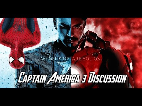 Captain America 3 CIVIL WAR Discussion Will Spider-Man Join the MCU