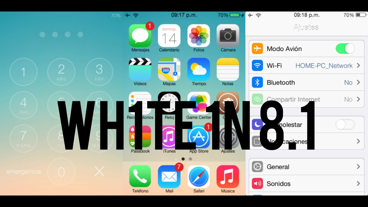 Ipod Ios 6.1.6 Ios 8 en Ios 6 | Ipod