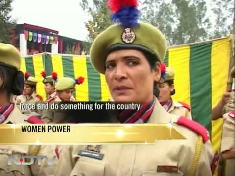 The women guarding Jammu and Kashmir