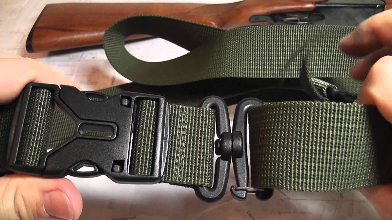 Трехточечный ремень зубр для ружья своими руками 72