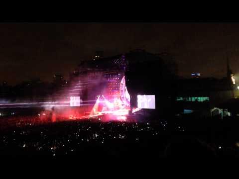 QUEEN + Adam lambert - Radio Ga Ga. Buenos Aires, Argentina. 25 de septiembre 2015