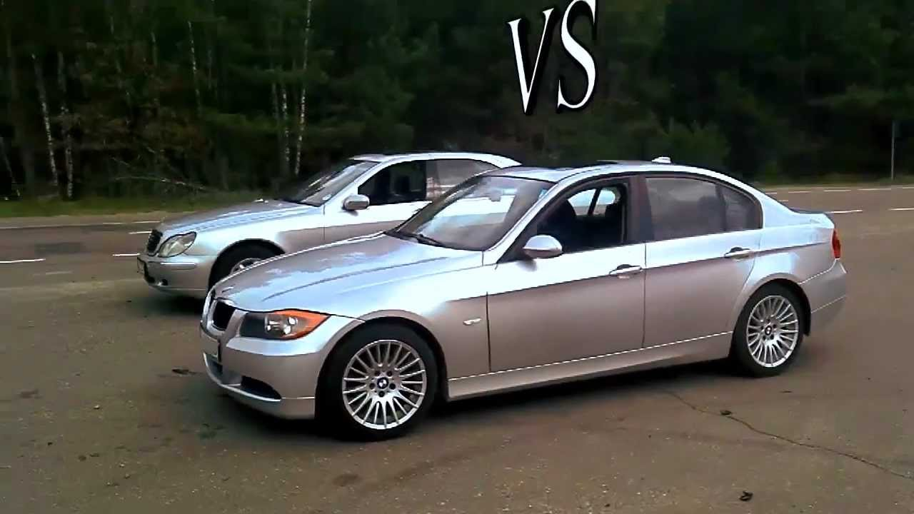 2012 Bmw 3 Vs Mercedes S Class Drag Race Youtube