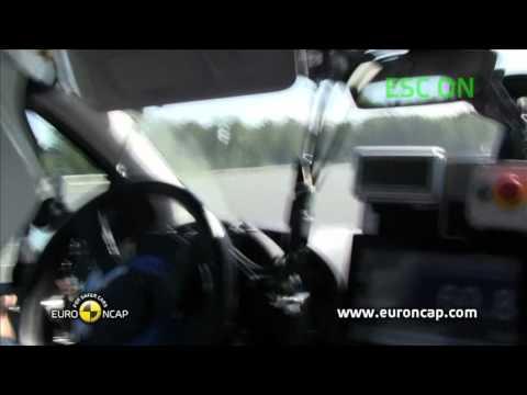 Euro NCAP | Mercedes-Benz B-Class | 2011 | Электронный контроль устойчивости
