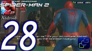 The Amazing Spider-Man 2 Android Walkthrough - Part 28 - Episode 8 Final BOSS and Ending