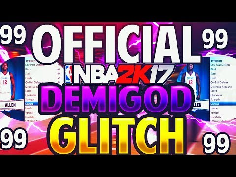 NBA 2K17 BEST DEMIGOD GLITCH FULL TUTORIAL HAVE EVERY GOLD IN THE GAME FULL TUTORIAL XB1 AND PS4
