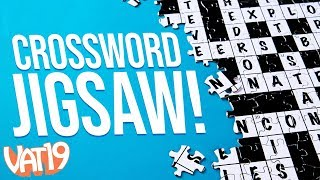 2-in-1 Crossword and Jigsaw Puzzle