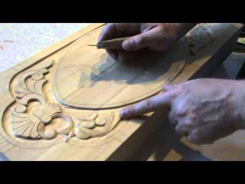 как сделать нарды Плоско рельефная резьба