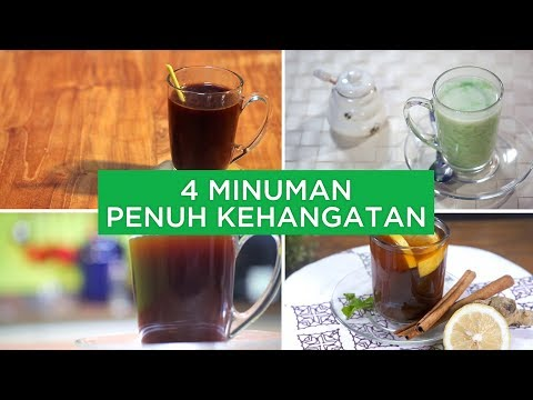 4 Minuman Penuh Kehangatan | 4 WAYS