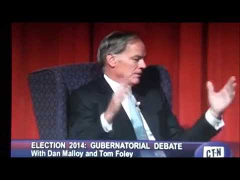 **Norwich Debate (2) Malloy vs Foley ~ Will You Enforce The New Gun Control Law?** 8/27/14