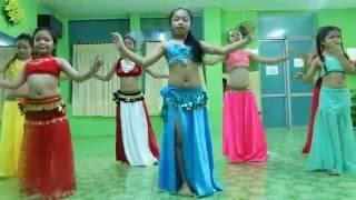 Múa bụng thiếu nhi quận 5_Bellygirls Group_taxim -Let's do it-Bellydance Vietnam