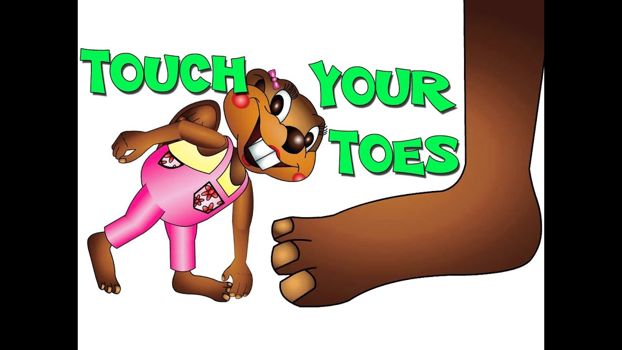 Touch Your Toes - TPR Total Physical Response for Kids - YouTube