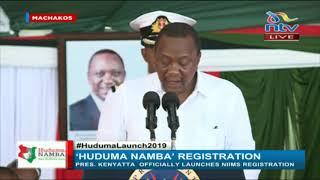 President Uhuru hilariously debunks 'Huduma Namba' myths    FULL SPEECH