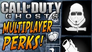 Call of Duty: Ghosts INFO! - Multiplayer Perks, Deathstreaks & Events! - (COD Ghost 2013)