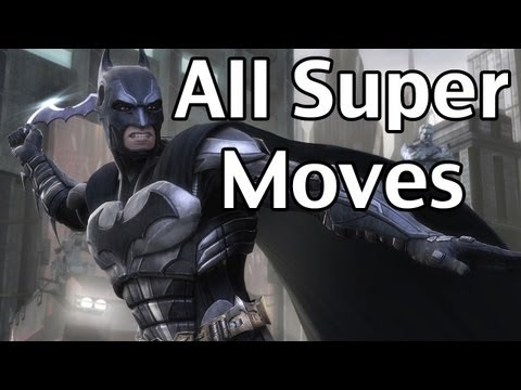 Injustice: Gods Among Us - All Super Moves (PS3/XBOX 360)