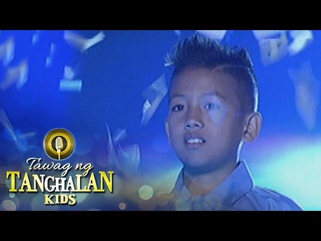 Tawag ng Tanghalan Kids: John Jamiel Convicto on his 4th win!