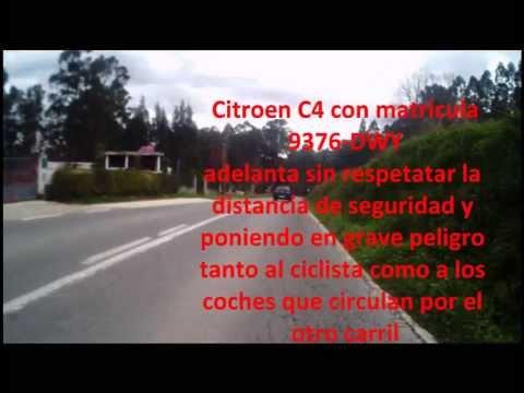Conductor asesino por la carretera de Mera a Sada (La Coruña)