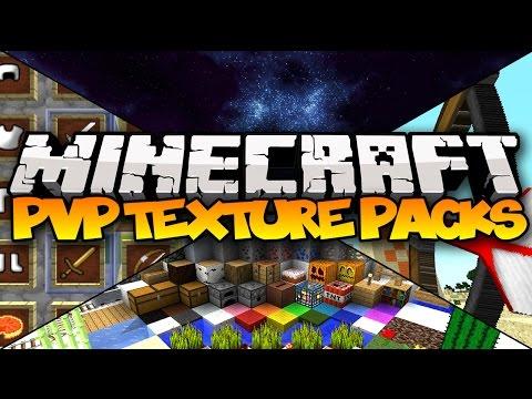 TOP 5 MINECRAFT PVP TEXTURE PACKS! - 1.8.1 (Best Minecraft Resource Packs)