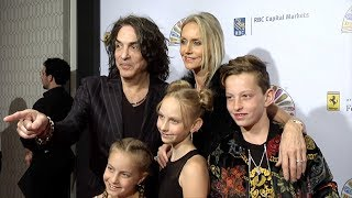 KISS Paul Stanley and Erin Sutton 2019 Flaunt It Awards Red Carpet