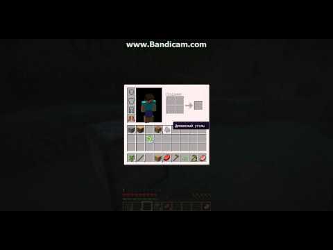 Видео как сделать факел Майнкрафт