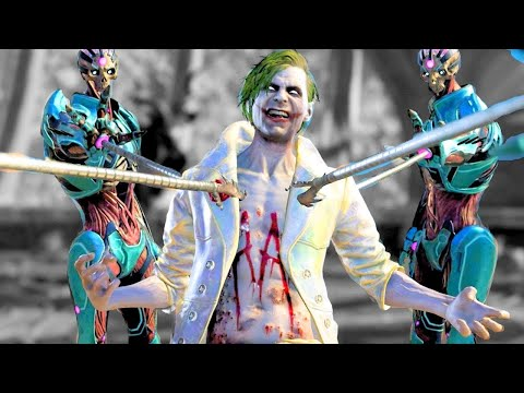 Injustice 2 All GOD Super Moves on GOD The Joker (No HUD) 4K UHD 2160p