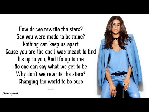Rewrite The Stars - Zendaya & Zac Efron (Lyrics)