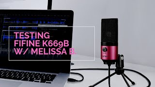 Fifine K669 Review by Melissa B.   Best Budget USB Microphone?