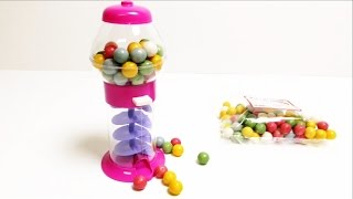 Galaxy Gumball Machine - Pink Candy Toy ガムボールマシーン