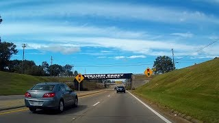 Road Trip #219 - US Highway 49 North - Camp Shelby through Hattiesburg, Mississippi