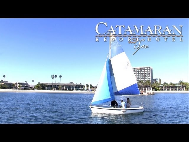 San Diego Activities - Sailing on Mission Bay - Catamaran Resort