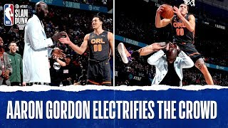Aaron Gordon OVER Tacko In The #ATTSlamDunk Contest