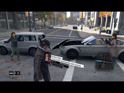 Watch Dogs PC max settings, gameplay on Radeon R9 280