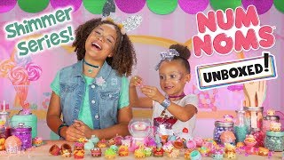 Unboxed! | Num Noms | Season 3 Episode 5: Shimmer Series Num Noms & Shimmer Playset