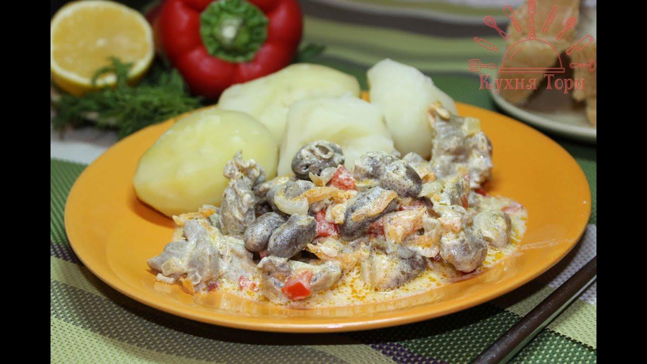 Рецепты блюд куриных потрошков