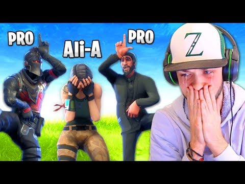 I got *BULLIED* by PRO Fortnite players...