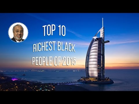 TOP 10 | Richest Black People in the World | 2015