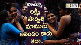 Shivathmika Crazy Moments with Lakshmi Parvathi @Dorasani Movie Celebrity Show