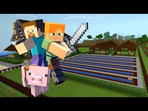 МОЯ САМАЯ ПЕРВАЯ ФЕРМА в МАЙНКРАФТ ВЫЖИВАНИЕ!! (Minecraft #8)