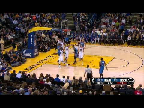 Oklahoma City Thunder vs. Golden State Warriors Full Highlights 12.18.2014