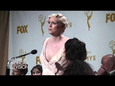 Gwendoline Christie and Lena Headey @2015 Primetime Emmys  - EMMYTVLEGENDS.ORG