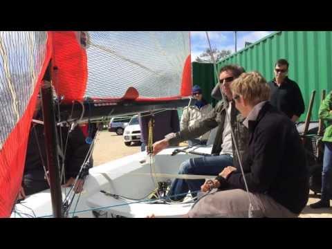 Tasar Sail training