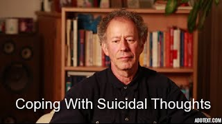 How I Coped with Suicidal Thoughts and Feelings