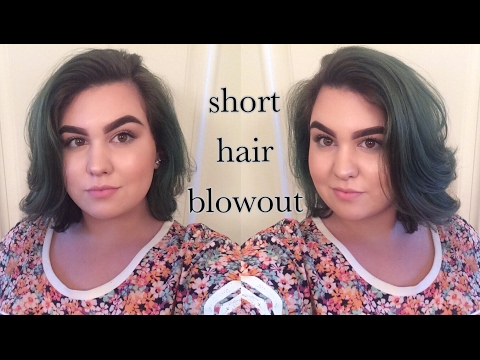 How To: BLOWOUT FOR SHORT HAIR
