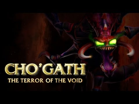 Cho'Gath Champion Spotlight Music Videos