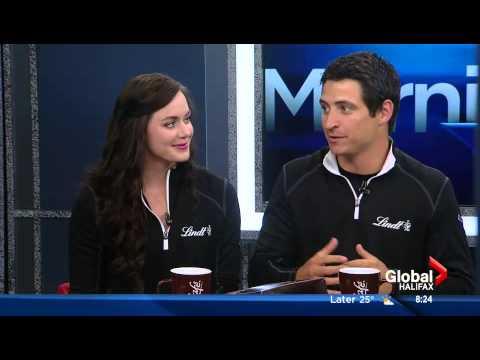Tessa Virtue & Scott Moir - Interview at Morning News Halifax [HD]