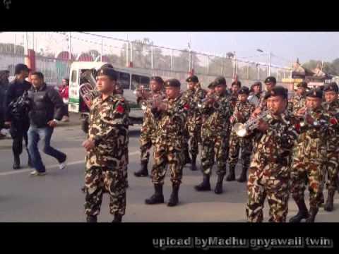 Nepal Army vs Indian Army Nepal Army Band 0riginal