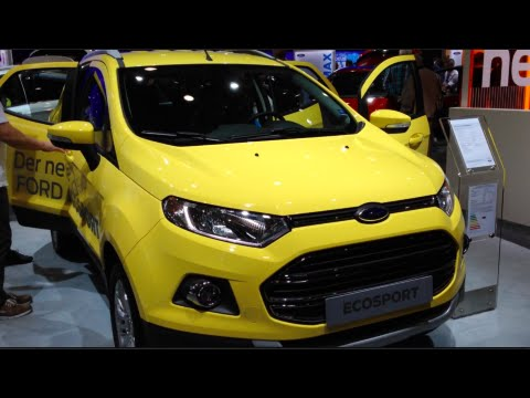 Ford Ecosport 2015 In detail review walkaround Interior Exterior